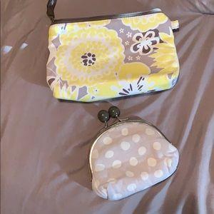 31 coin purse and makeup bag